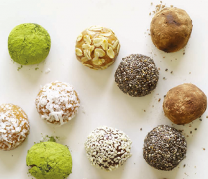 energy balls for adventure and protein