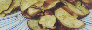 japanese yam chips, japanese yam chip recipe, recipe for japanese yam chips, homemade japanese yam chips, bone broth, soup delivery